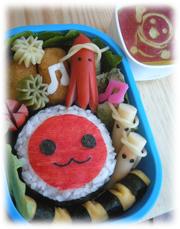 ☆幼稚園のお弁当(キャラ弁)☆の写真