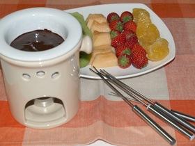 チョコレートオレンジフォンデュ