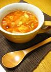 雑穀米で♡トマト味のデトックススープ