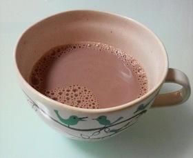 ココア豆乳★