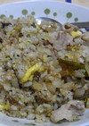 超本格☆高菜と豚肉のチャーハン