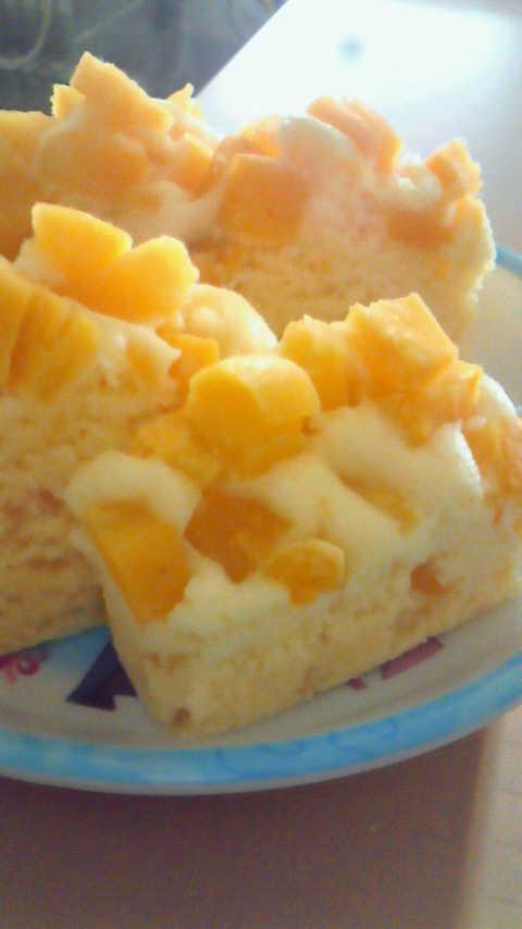 ホットケーキミックスでさつま芋蒸しパン♪