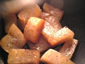 簡単:レンジ5分:醤油のピリ辛蒟蒻