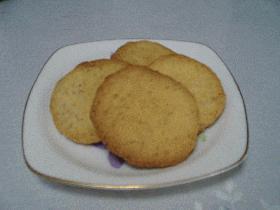 「ぬって焼くとホットケーキ」でクッキー