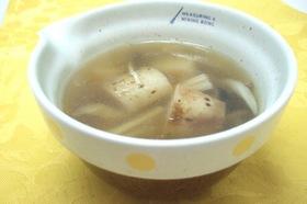 ホクホク長芋とキノコのスープ☆