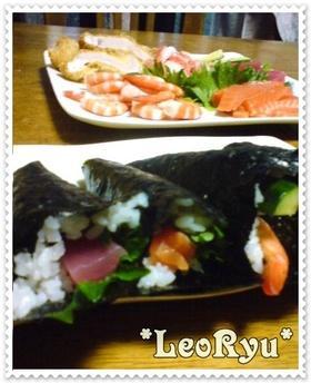 我家の☆手巻き寿司☆