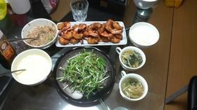 マイタケと水菜の簡単サラダ♪♪
