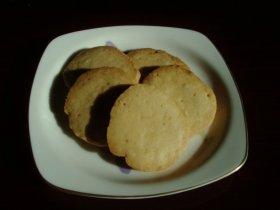 ピーナッツクリームでクッキー