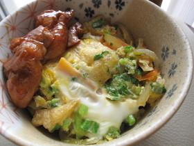 松山あげでとろける卵とじ丼