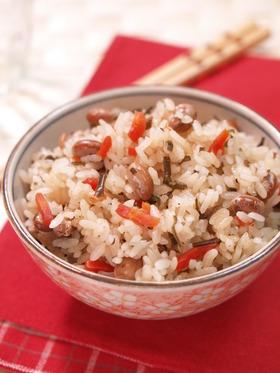 福豆塩昆布ご飯