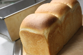 もちもち♪湯捏ね食パン