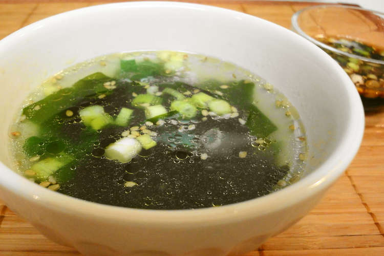 スープ わかめ