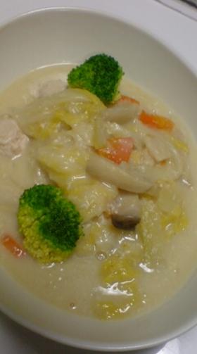ルウを使って☆白菜と鶏団子のクリーム煮☆