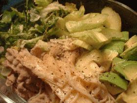 ☆ダイエットメニュー。Vol.6☆香味野菜と豚シャブのパワーディナー。
