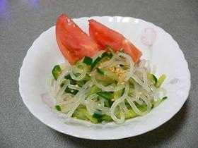 マロニーちゃんで、簡単中華サラダ