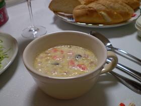 超簡単deおいしい☆豆乳スープ