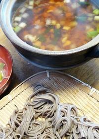 長野で食べた とうじ蕎麦