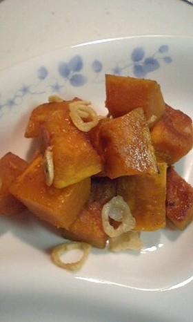 かぼちゃのコロコロガーリック焼き