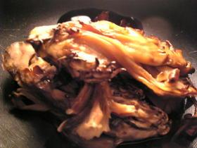 舞茸のポン酢和え
