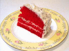 真っ赤なクリスマスケーキ!