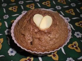 板チョコ☆カップケーキ