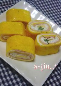 お弁当に✿3色卵焼き
