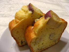 ホットケーキミックス簡単さつまいもケーキ