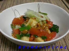 長芋と納豆のスタミナ和え