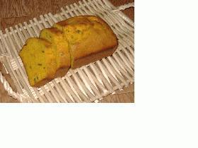 鮮やか!カボチャのパウンドケーキ