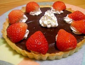 あまい甘い簡単生チョコタルトバレンタイン