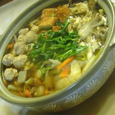鶏だんごが美味しい☆ちゃんこ鍋