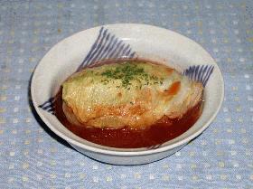 おから入りロールキャベツ(トマト煮)