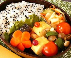 お弁当に♪お花人参(写真付き)