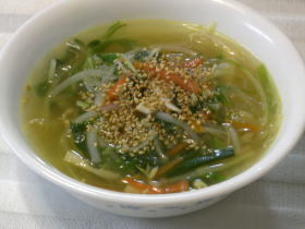 ◆春雨入り中華スープ◆