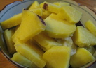 さつま芋レモン煮