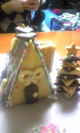ツリー お家 かわいいクッキー