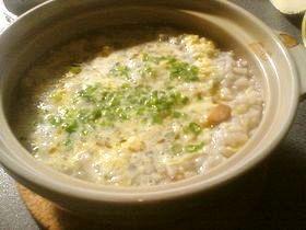 手作り鶏スープ使用★紫蘇香るあっさり雑炊
