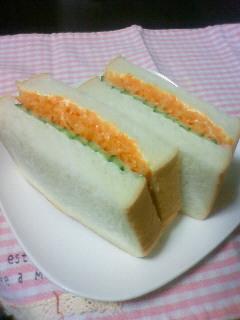 あのCMみたい!にんじんのサンドイッチ