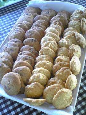 サックサク♪我が家のチョコチップクッキー