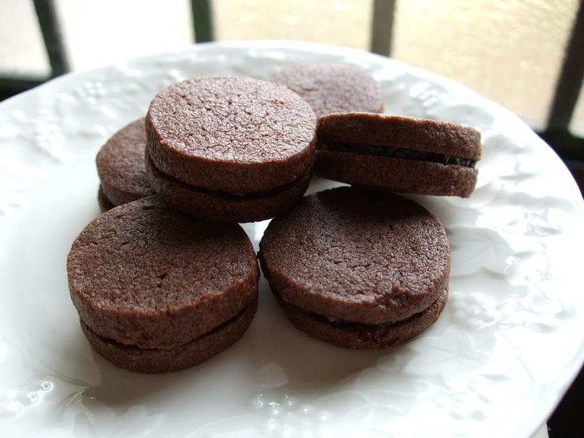 ガナッシュサンドクッキー