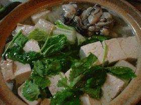 ウチの湯豆腐