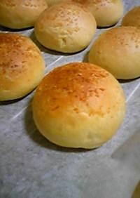 まんまるガーリックパン(+コーンチーズ)