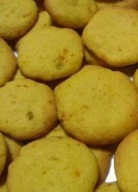 しっとり♪つぶつぶパンプキンクッキー