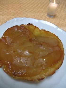 キャラメルりんごのアップルパイ