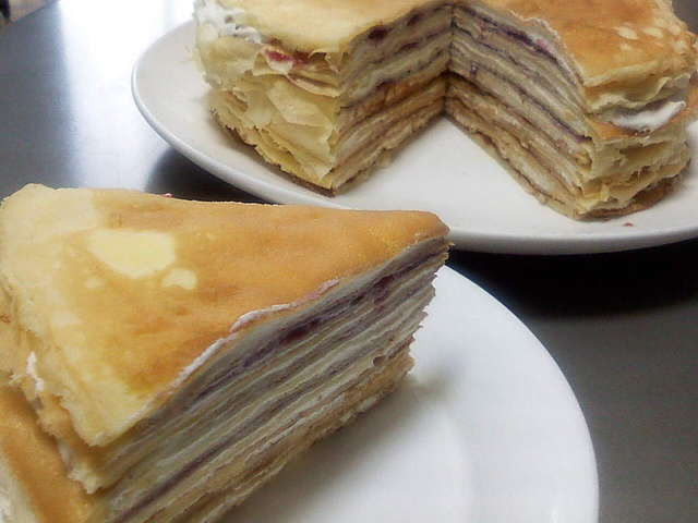 ミルクレープ 作り方 ホットケーキミックス