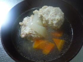 鶏団子のスープ