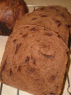 HB早焼きコースで♪板チョコ食パン