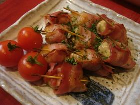 美味しい~☆牡蠣のベーコン巻き☆