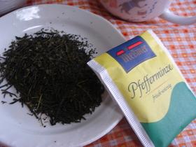 薬膳ノススメ!鼻づまりに、ミント緑茶