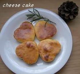 簡単♪チーズ好きのベイクドチーズケーキ